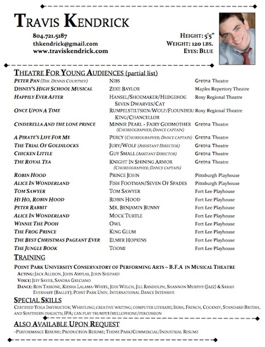 travis_kendrick_ _tyaresumepdf - Theatre Resume